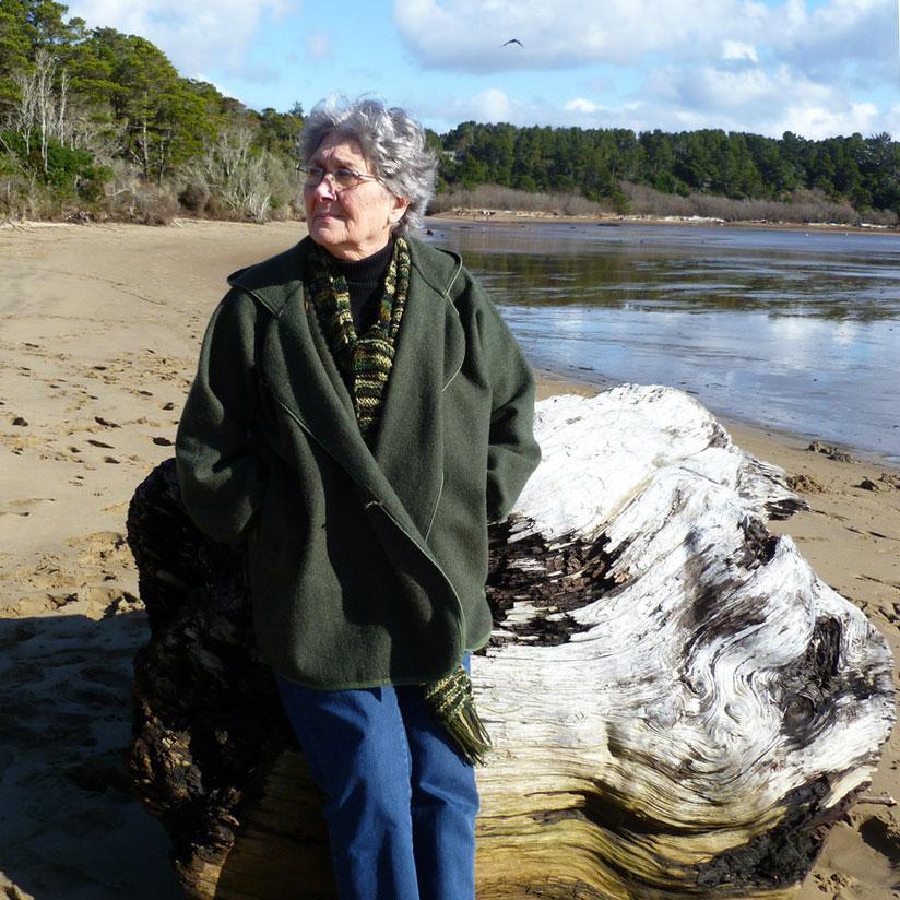 Photo of Jean Caroline on the beach.