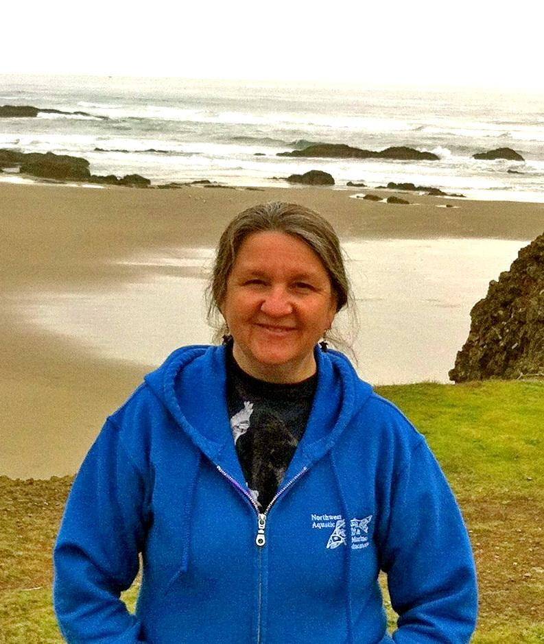 Fawn Custer, CoastWatch volunteer coordinator. (No credit given.)