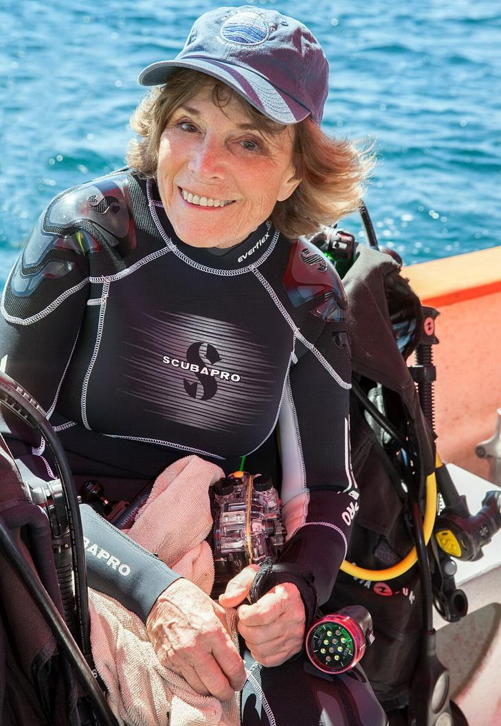 Dr. Sylvia Earle.\Photo by Kip Evans.