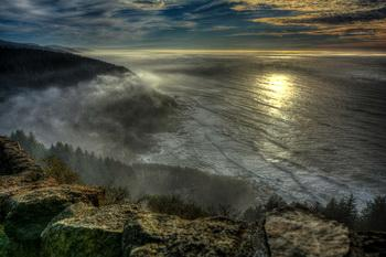 View from Cape Perpetua. Photo by Alex Derr.