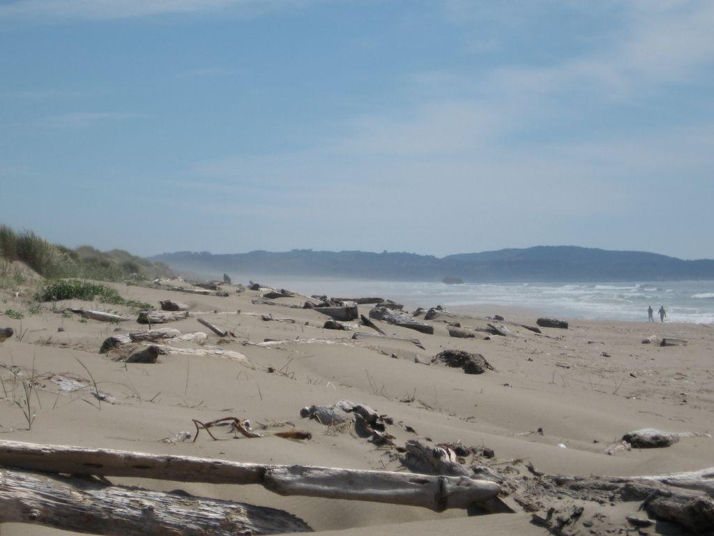 Beach overview at Mile 129