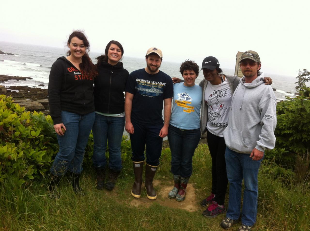 Some of the Oregon State University Coastal Society