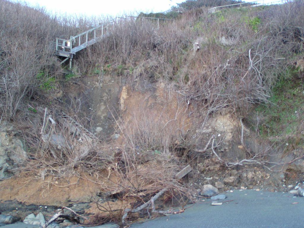 landslide on mile 2