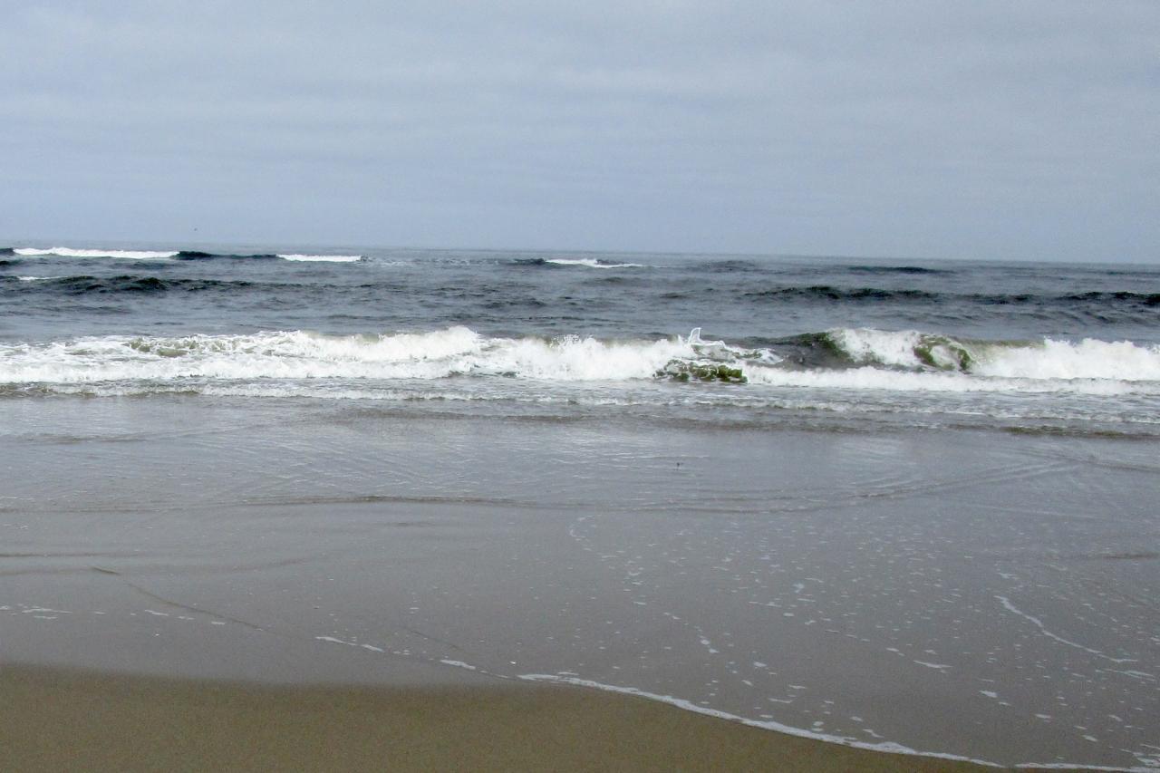 Quiet waves today