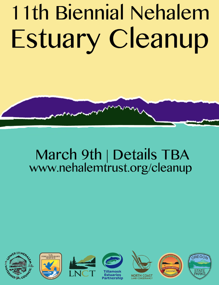 Nehalem Estuary Cleanup Flyer