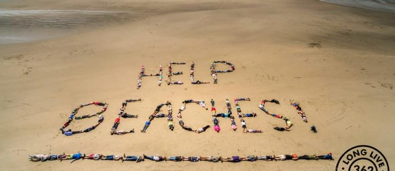 Time to step up for our beaches\Photo courtesy of Surfrider.