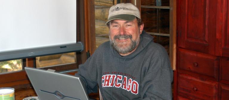 Geologist Bob Lillie.