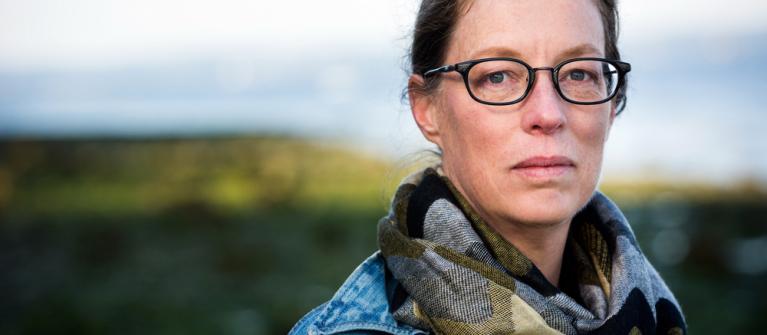 COASST founder Julia Parrish.  Photo by Benjamin Hammond.