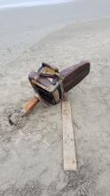 Chair on beach