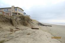 North end of the Wakonda Beach armoring project