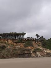 New House under constructionin the Pacific Shores development.