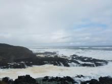 High tide at Cape Perpetua