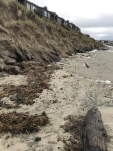 Kiwanda shore erosion
