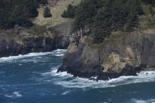 Headland at north end of mile 226