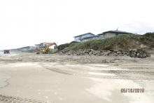 restoring permitted embankment protection