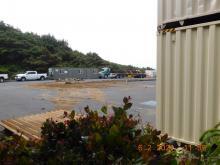 Driftwood Wayside parking area