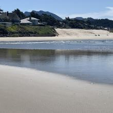 Mouth of Ecola Creek