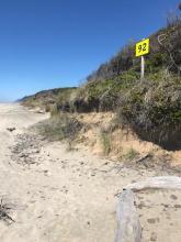 Mile 92 sign. mile 181