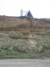 larger view of erosion