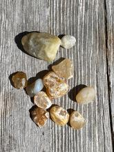 Agates collected on my walk