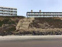 New cliff erosion control