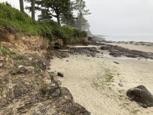 Yachats Ocean Road State Park lookin south