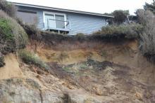Severe erosion.