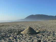 Manzanita Beach looking toward NeaKahNie Mountain and Cape Falcon