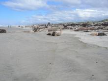 Beach along 147 after several storms.