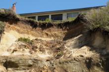 This is the same cliff, slightly closer