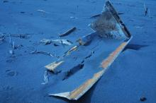 photos of shore debris described in report are attached for further examinatiion