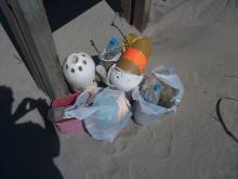 The pile I left for the ranger