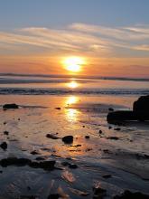 20 jan 2015 sunset taken north Agate beach