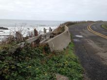 More erosion affecting Ocean View Drive