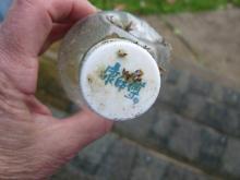 Tropicana Plastic Bottle, Asian writing on bottle cap