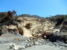 Erosion area worse after winter storms