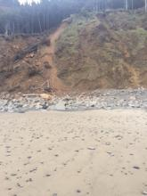 Landslide, Short Beach