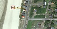 Location of car remains on Wakonda beach