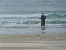 Surf Fishing, Driftwood Beach