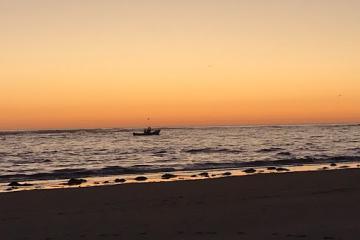 Fishing Boat Netarts Bay