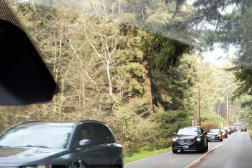 Heavy visitation creates traffic