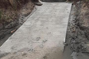 New walkway onto the beach