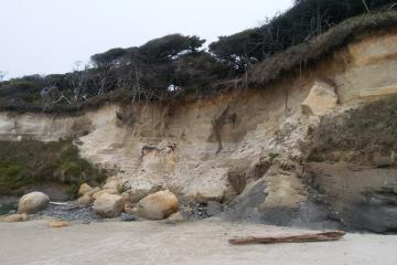 Bluff Erosion between Beaver Creek and Lost Creek