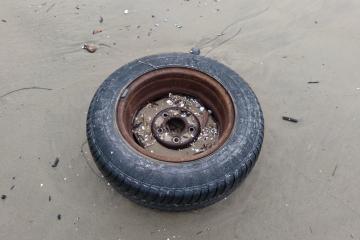 Crescent Beach Trash