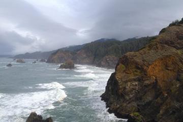 Cliffs, mile 14