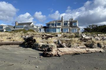 Driftwood Threatening SouthShore home