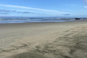 Ocean Beach at low tide