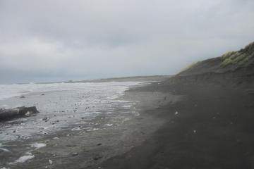 Note widespread erosion.