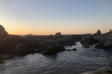 exposed rocks
