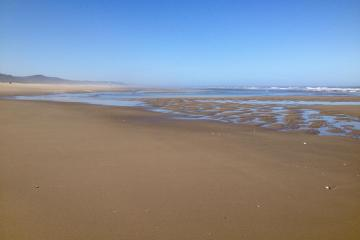 Low tide on Siltcoos Beach